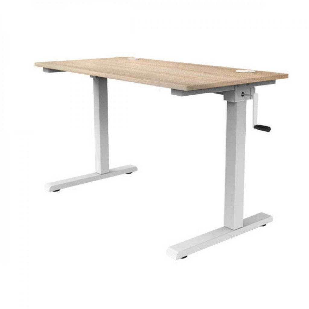 manually adjustable desk